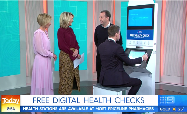 SiSU Health on the Today Show July 2019